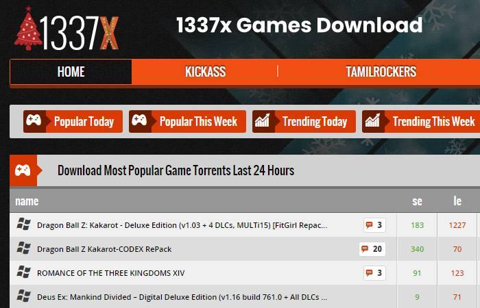 1337x Games Download