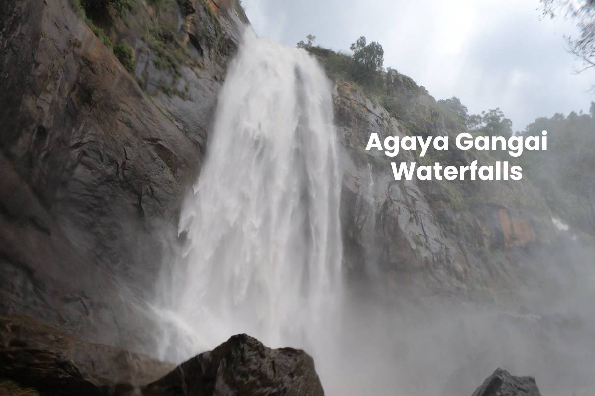 Agaya Gangai Waterfalls