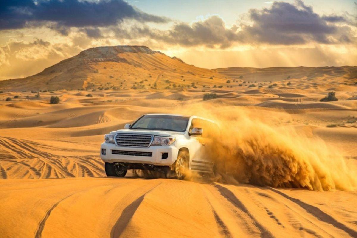 Desert Safari Dune Bashing Tour 4WD On Sand