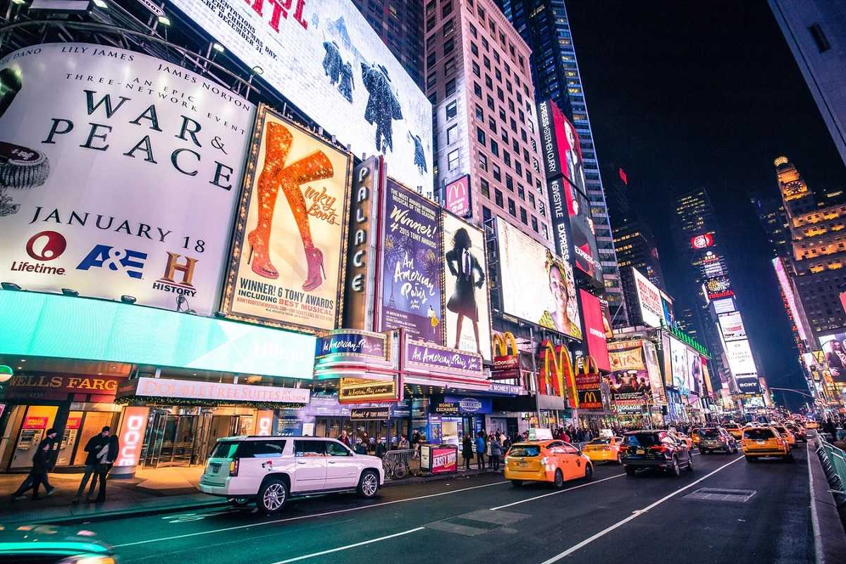 Broadway and Theater District