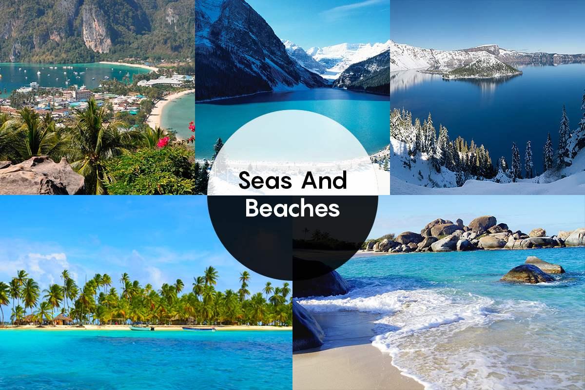 Seas and Beaches