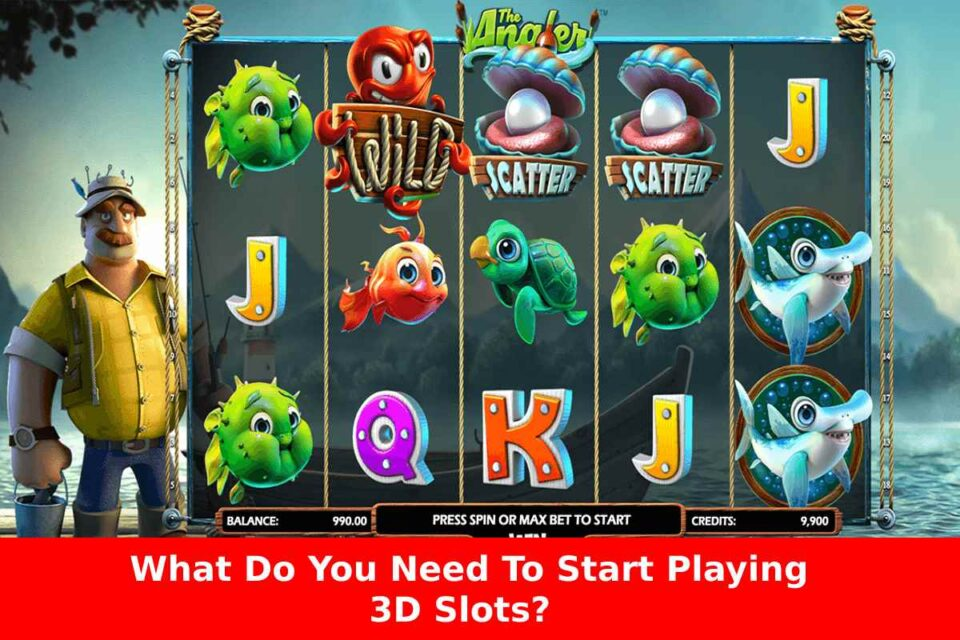 What Do You Need To Start Playing 3D Slots