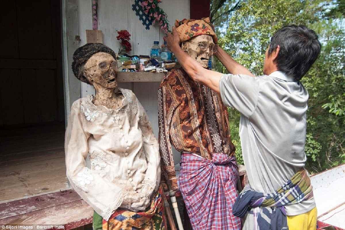 Toraja people of Indonesia